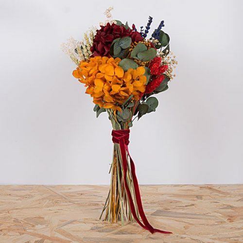 ramo mama con flores preservadas