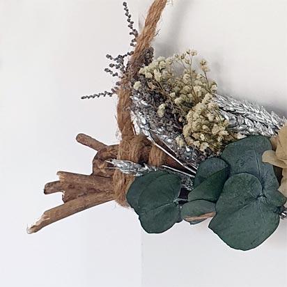 Colgante de ramas entrelazadas blomster