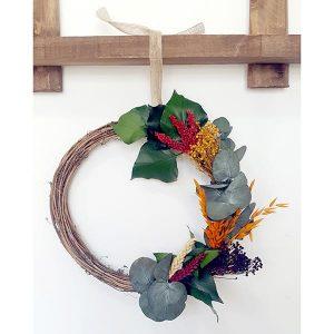 Corona-de-flores-de-navidad Lykke