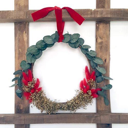 Corona de Navidad Elsker