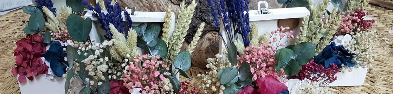 regalos originales con flores para boda