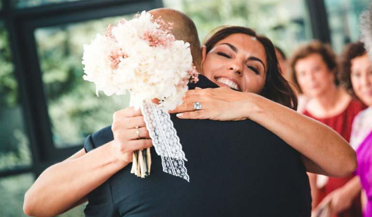 momento especia de la boda