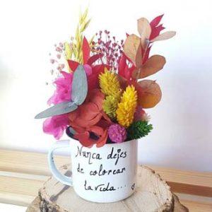 regalo original flores preservadas