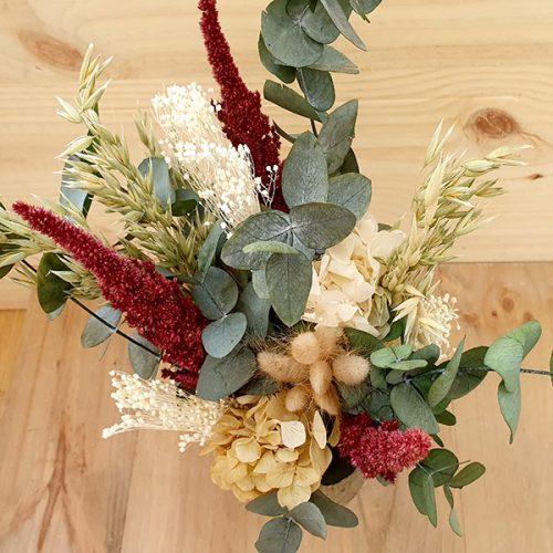 centro de mesa amaranthus
