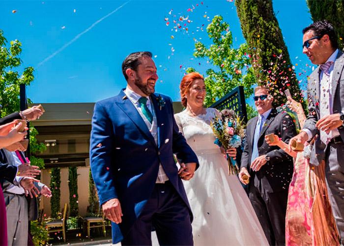 La boda de pipi un día lleno de color