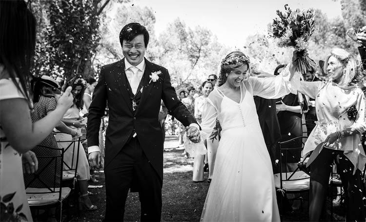 celebración boda campestre