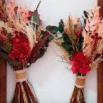 replica de ramo de novia en ramo de flores preservadas