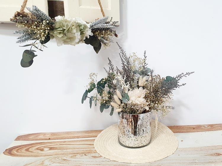 decoración de navidad 2019 en tonos plata
