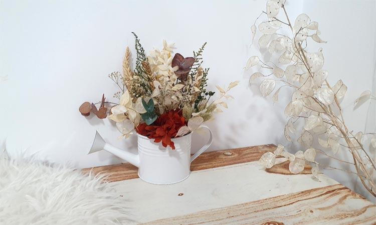 regadera de flores decoracion de navidad 2019