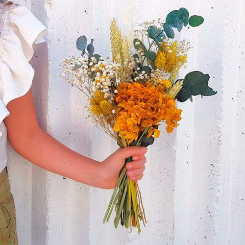 raimillete Amybeth con tonalidad amarilla