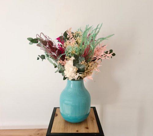 centro de flores para salón