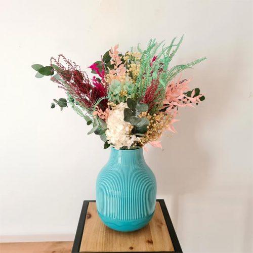 centro sanoa de flores preservadas