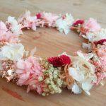 talleres de coronas de flores preservadas