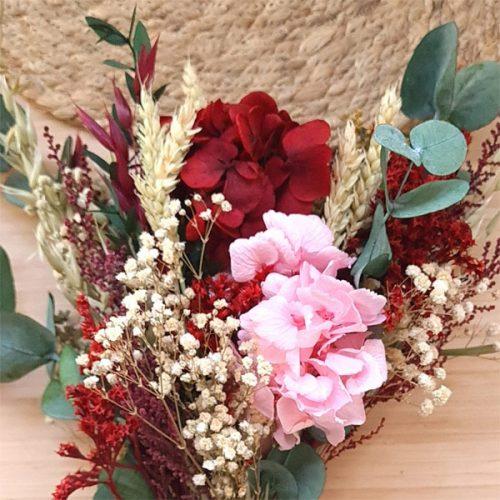 detalle ramillete kahlo de flores