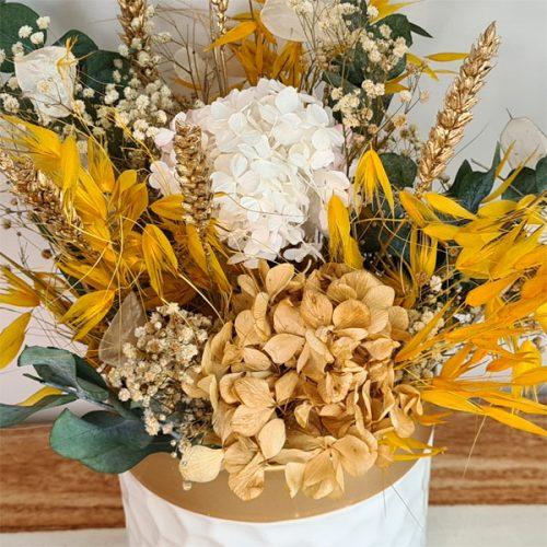 detalle de centro sicilia de flores