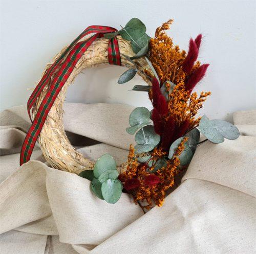 corona de navidad tatarica