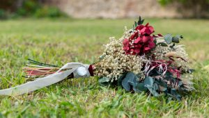 ramo de novia preservado para boda