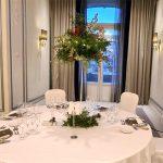 decoración de boda en el hotel the westin palace