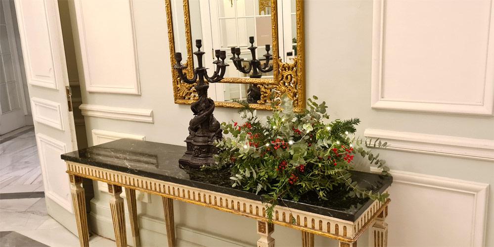 decoración hotel palace madrid