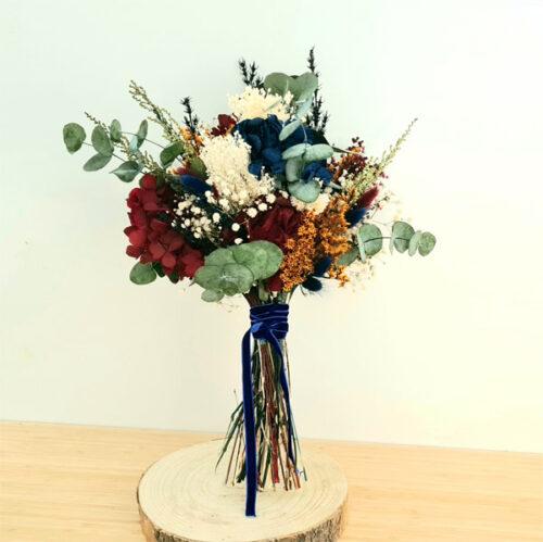 ramo de novia montreal de flores preservadas