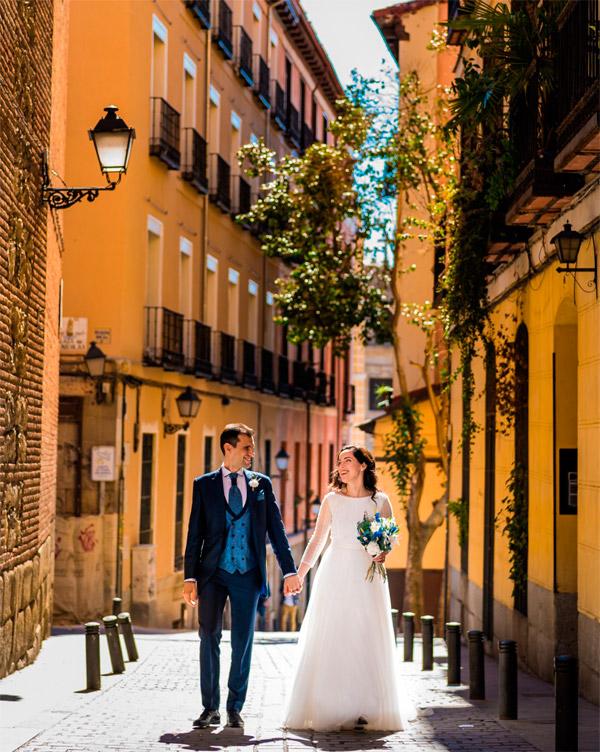 Boda en Madrid de José y Carmen