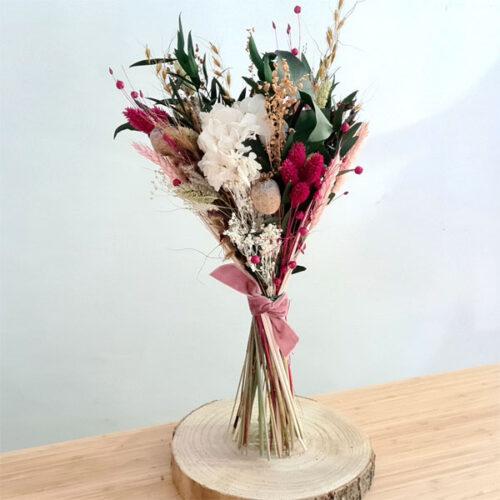 ramo corina de flores preservadas