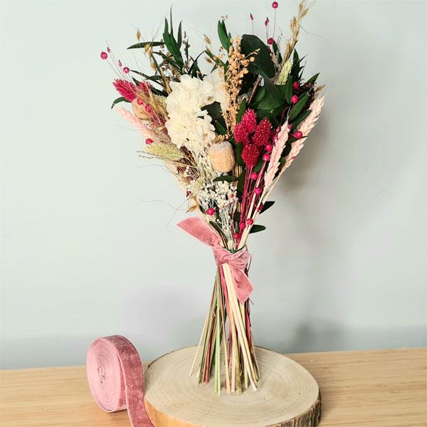 ramo de flores preservadas Corina