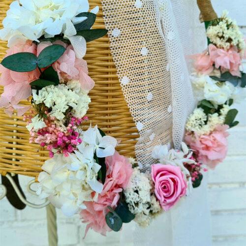 ramo de novia hoop bouquet