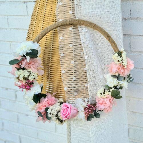 ramo janis con flores preservadas