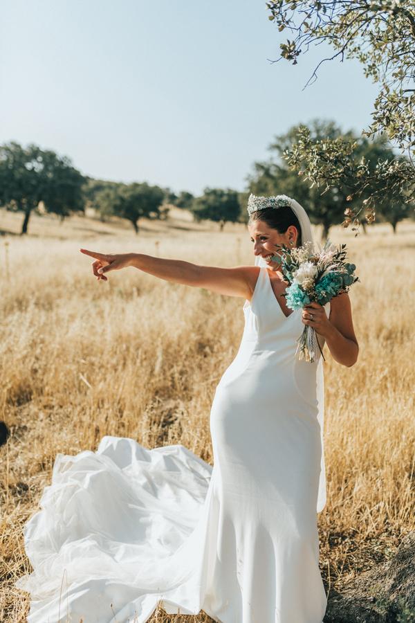 fotos novia en boda